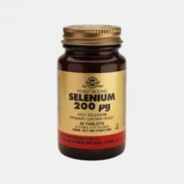 Selenium 200ug 50 Comprimidos Solgar