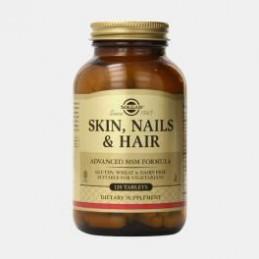 Skin, Nails And Hair 120 Comprimidos Solgar