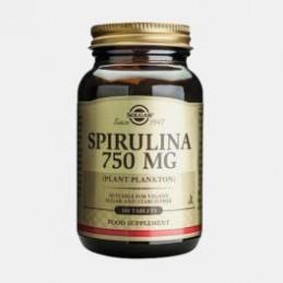 Spirulina 750mg 100 Comprimidos Solgar
