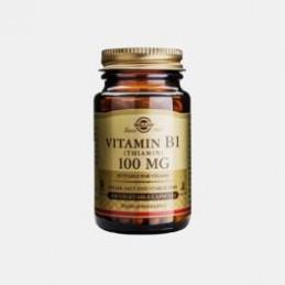 Vitamina B1 100mg 100 Capsulas Solgar