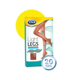 Scholl Light Legs Coll Comp 20 Den Tamanho S Pele