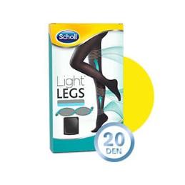 Scholl Light Legs Coll Comp 20 Den Tamanho XL Preto