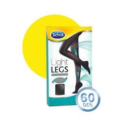 Scholl Light Legs Coll Comp 60 Den Tamanho L Preto