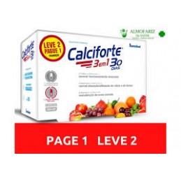 Calciforte 3 em 1 – 2 x 30+30 cápsulas