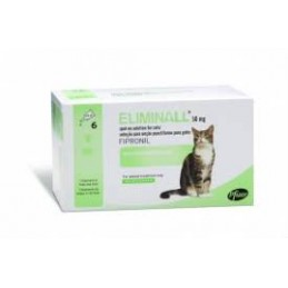 Eliminall 50 mg Gatos 3 Pipetas