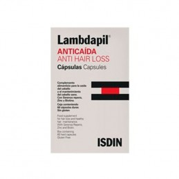 ISDIN Lambdapil Fortificante para Cabelos 60 Capsulas