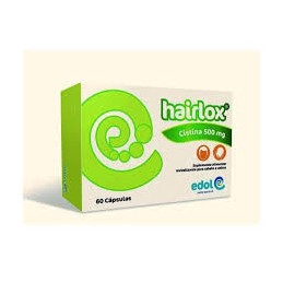 Hairlox 500 Mg 60 Capsulas