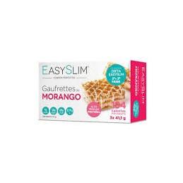Easyslim Gaufrettes de Morango 3x41grs