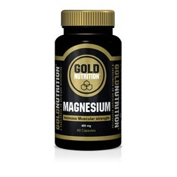 Gold Nutrition Magnesio 600mg 60 Capsulas