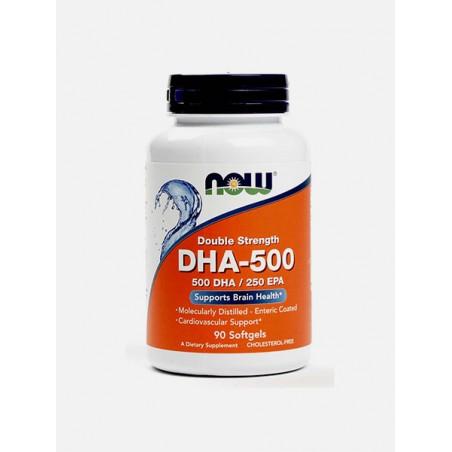 DHA 500 mg 90 capsulas Now
