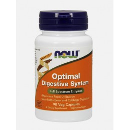 Optimal Digestive System 90 capsulas Now