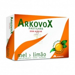 Arkovox Pastilhas Mel/Limão 24 Pastilhas