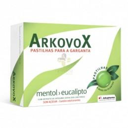 Arkovox Pastilhas Mentol/Eucalipto 16 Pastilhas