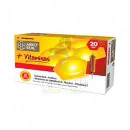 Arko Real Geleia Real + Vitaminas 20 Ampolas