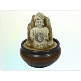 Fonte Buda com Bola e LED 19 cm