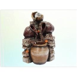 Fonte Potes com Bola e LED 37 cm