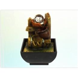 Fonte Potes com Bola e LED 17 cm