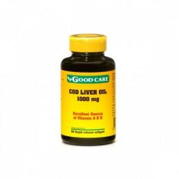 Oleo de Figado de bacalhau 1000 mg 60 softgels