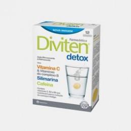 Diviten Detox 12 Comprimidos Efervescentes