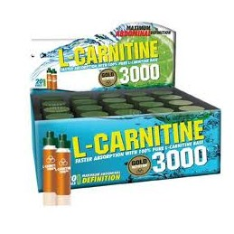 L-Carnitine 3000mg 20x 10ml Limão
