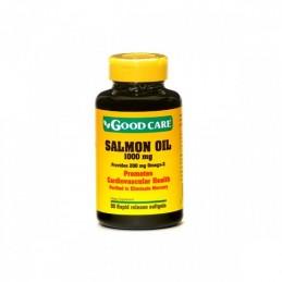 Oleo Salmão 1000 mg 50 capsulas Moles