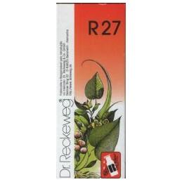 Dr Reckeweg R27 Gotas Gota, Pedra nos Rins, Vesícula