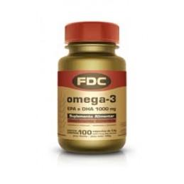 FDC Omega3 EPA e DHA 100 Capsulas