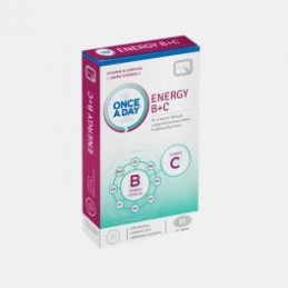 Energy B+C 30 Comprimidos