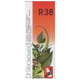 Dr Reckeweg R38 Gotas Afecções abdómen lado direito, ovário