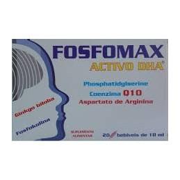 Fosfomax Activo DHA 20 ampolas Natural Eficaz