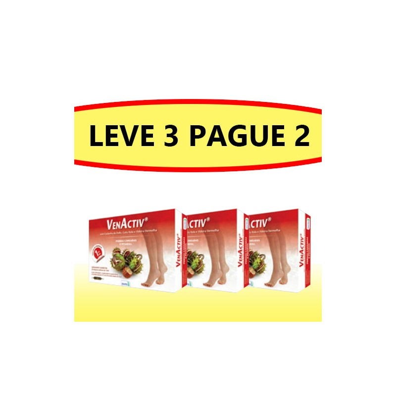 Venactiv Ampolas - Pague 2 Leve 3