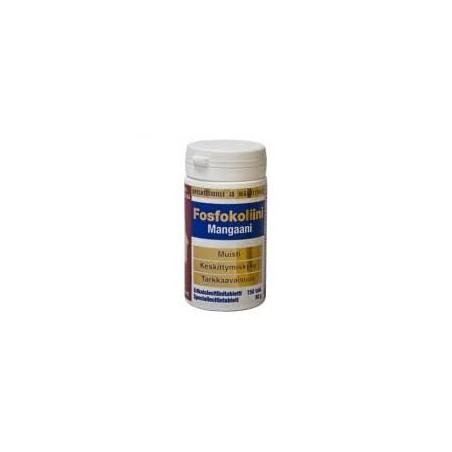 Fosfokolini Mangaanni 150 Comprimidos
