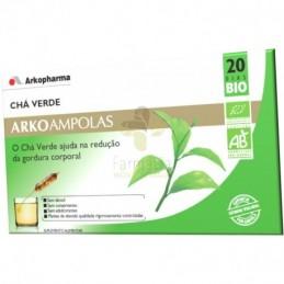 Arkoampolas Cha Verde Bio 20 ampolas