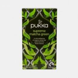 Pukka Supreme Matcha Green Bio 20 saquetas
