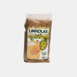Linholax Linhaca Castanha em Po Bio 250g