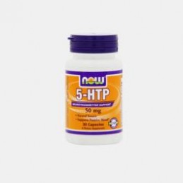 5-HTP 50mg 30 Capsulas Now
