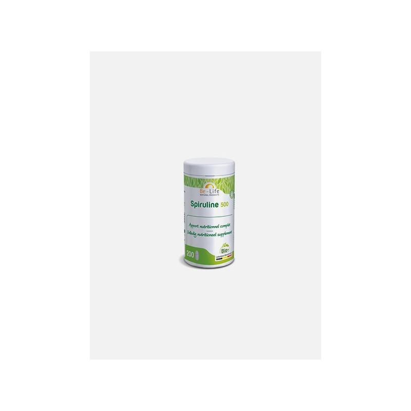 Be-Life Spirulina 500 Bio 200 comprimidos