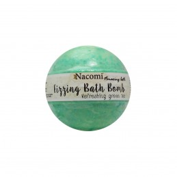 Nacomi Fizzing Bath Bomb Refreshing Green Tea