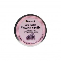 Nacomi Vela de Massagem  Aroma Oriental e Especiarias Marroquinas 150g
