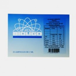 Bioligo Manganês + Cobre 20 ampolas de 2ml
