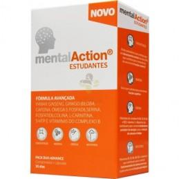 MentalAction Estudantes 30 Comprimidos + 30 Capsulas