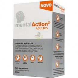 MentalAction Adultos 30 Comprimidos + 30 Capsulas