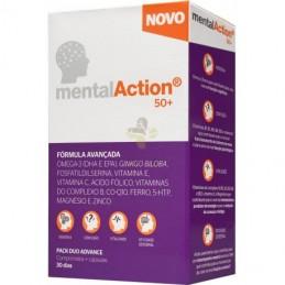 MentalAction 50+30 Comprimidos + 30 Capsulas