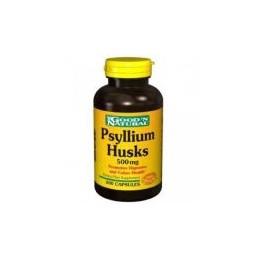 Psyllium Husk 500mg 200 capsulas
