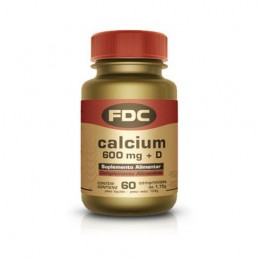 FDC Calcio 600 Vitamina D 60 Comprimidos