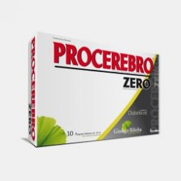 Procerebro Zero Diabeticos 30 ampolas