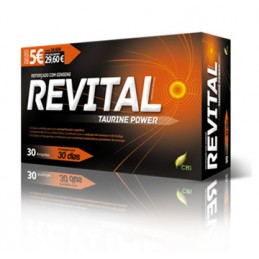 Revital Taurine Power Ampolas