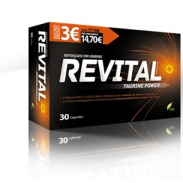 Revital Taurine Power Capsulas