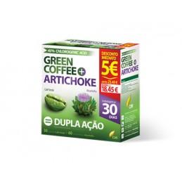Green Coffee 30 cápsulas + Artichoke 60 cápsulas