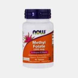 Methyl Folate 1000mcg 90 Comprimidos